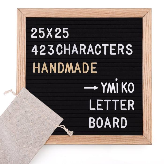 37% off Ymiko Felt Letter Board