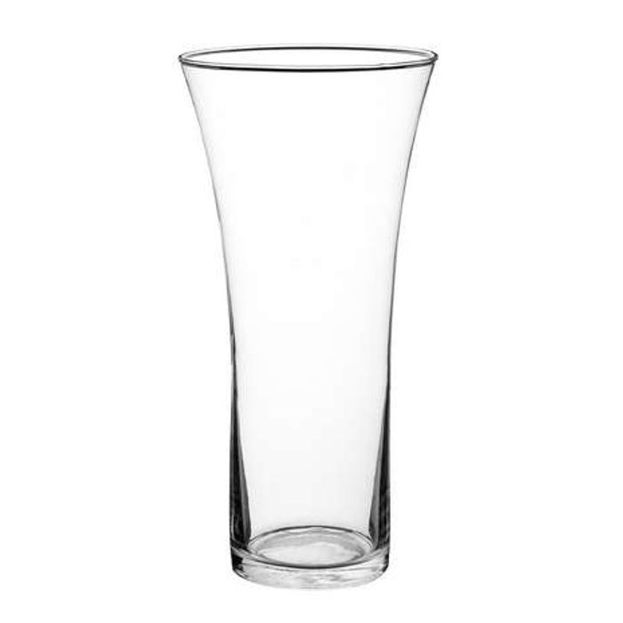 HALF PRICE Large Flare Top Glass Vase