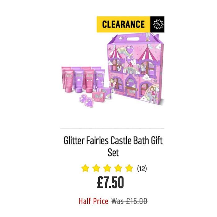 Glitter Fairies Castle Bath Gift Setby the Luxury Bathing Company806/3551