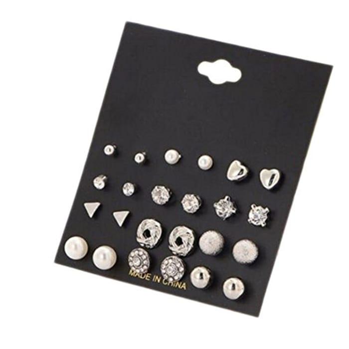 12 Piece Earring Set.