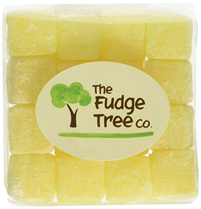 The Fudge Tree Company Pineapple Chunks Bags 180 G (Pack of 12)
