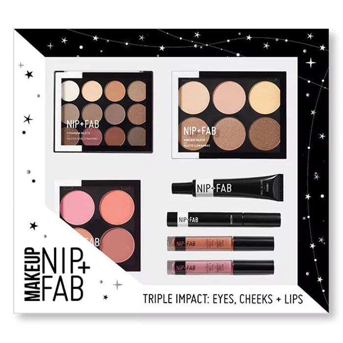 NIP+FAB Exclusive Black Friday Triple Edition Impact Makeup Kit