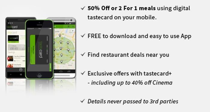 Free Taste Card 60 Day Trial