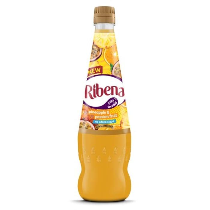 Ribena No Added Sugar Pineapple and Passion Fruit