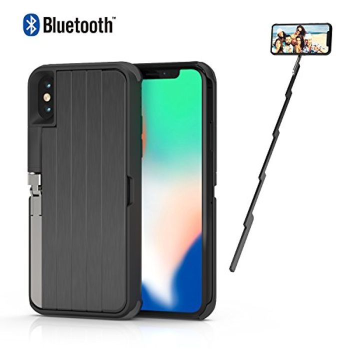 Get 60% off Selfie Stick Case for iPhone X