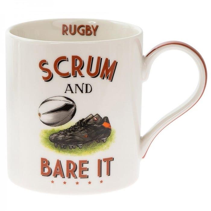 Rugby Boxed Mug