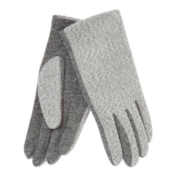 Principles - Light Grey Textured Gloves
