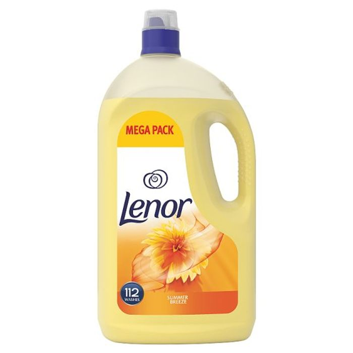 Lenor Summer Breeze Fabric Conditioner 3.9 Litre 112 Washes