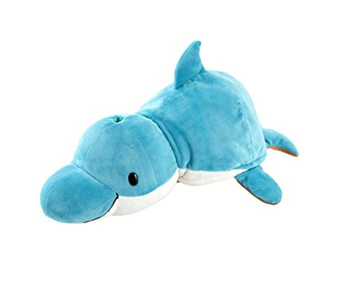 Large Flip Dolphin/Walrus 2-in-1 Soft Toy
