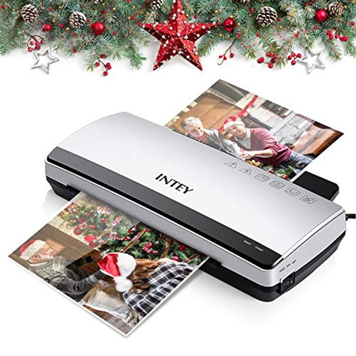 A4 Laminator, Thermal Laminator Machine Includes 10 Laminating Pouches