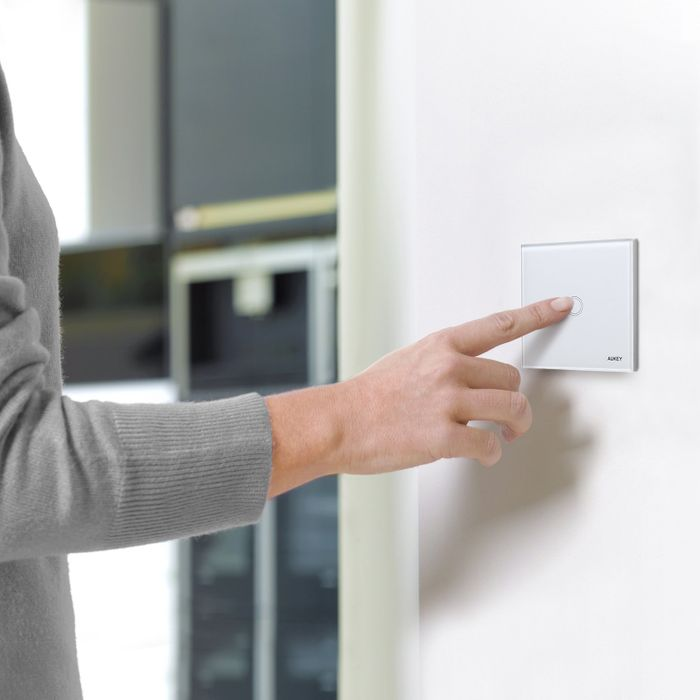 AUKEY Wall Touch Screen Light Switch £3.99 with Promotion + £4.49 P&P