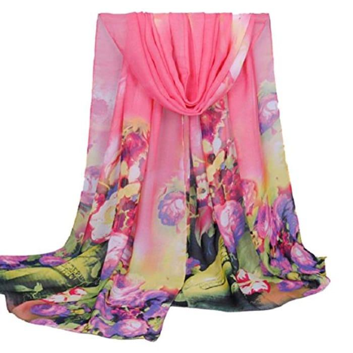 Fashion Women Long Soft Wrap Scarf