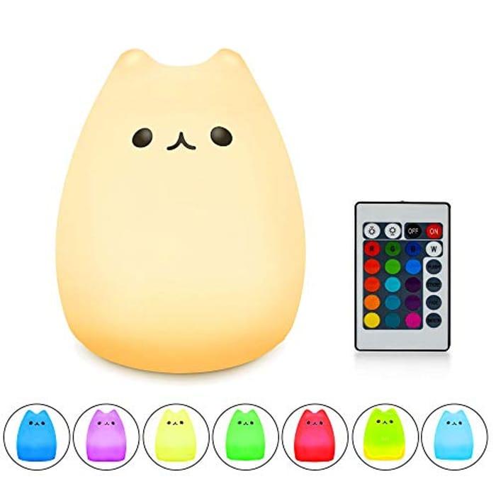 Color You Cat Night Light