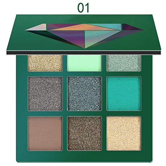 Shimmer 9Colors Portable Cosmetic Glitter Eye Shadows