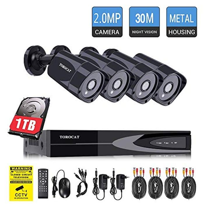 TOROCAT Home Security CCTV Camera Systems