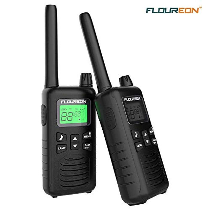 16 Channel Walkie Talkies, FLOUREON Adults Kids Two-Way Radio