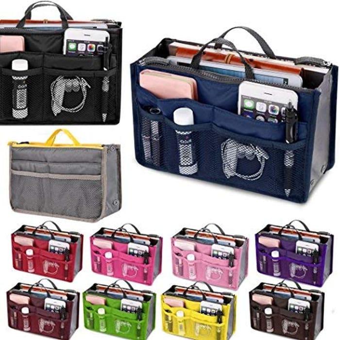 Voiks Handbag Organizer Multi-Pocket Travel Bag