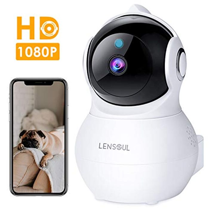 Lensoul IP Camera 1080P HD Security Wifi Camera