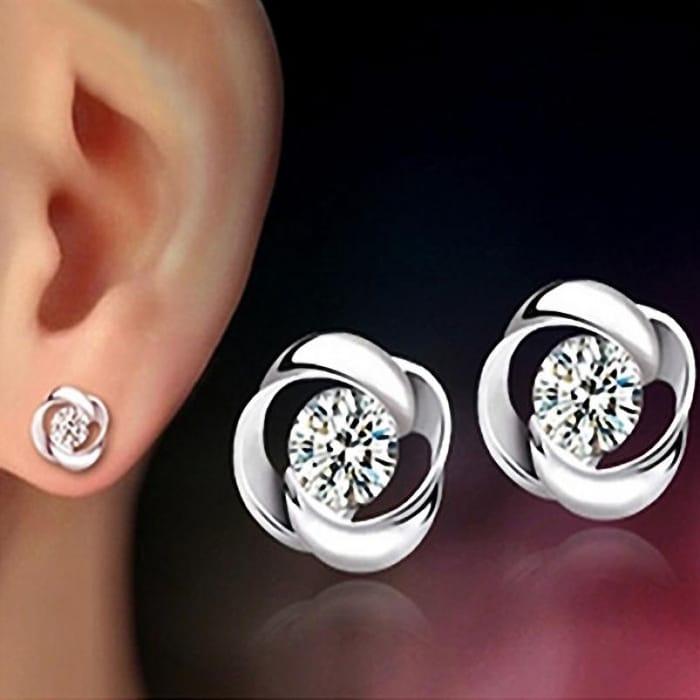Silvering Earrings