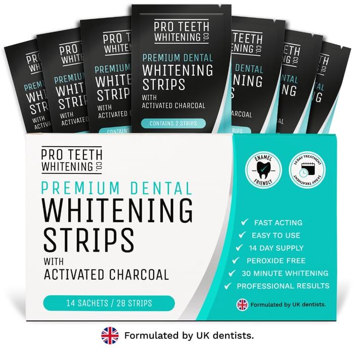 Teeth Whitening Strips - Professional Whitening - Pro Teeth Whitening Co.
