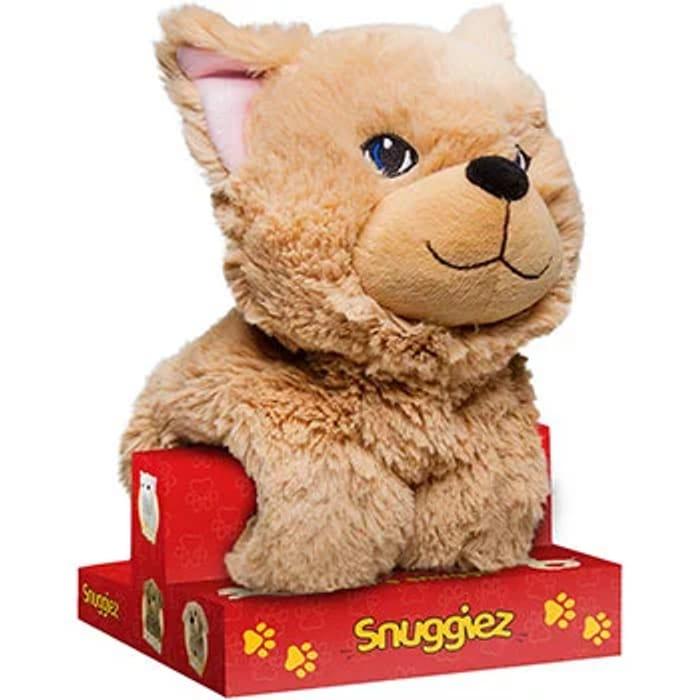Snuggiez Ginger Kitten Soft Toy