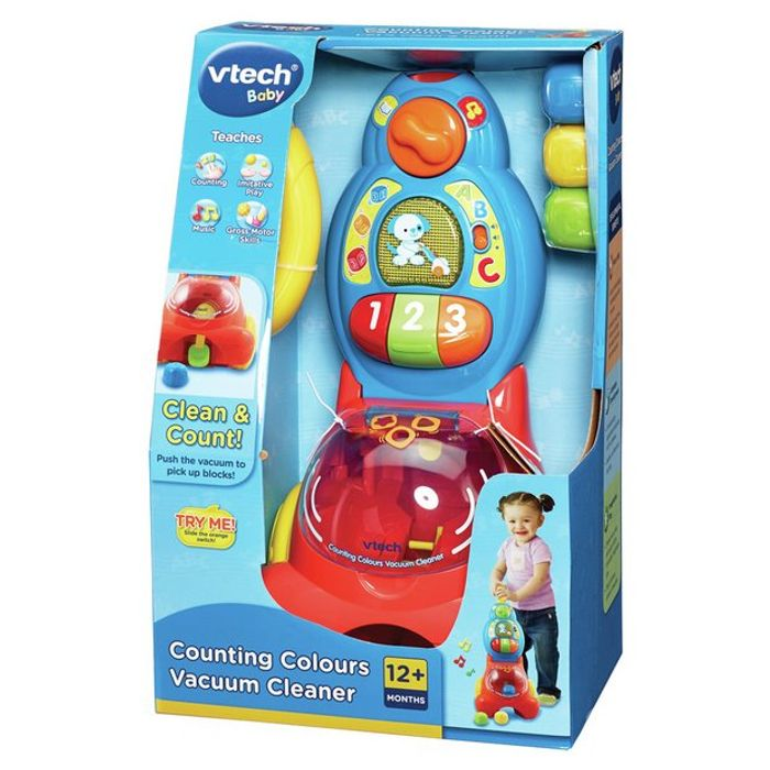 Vtech Colour Counting Vacuum