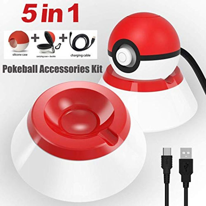 Pokemon 5 in 1 Charger Stand