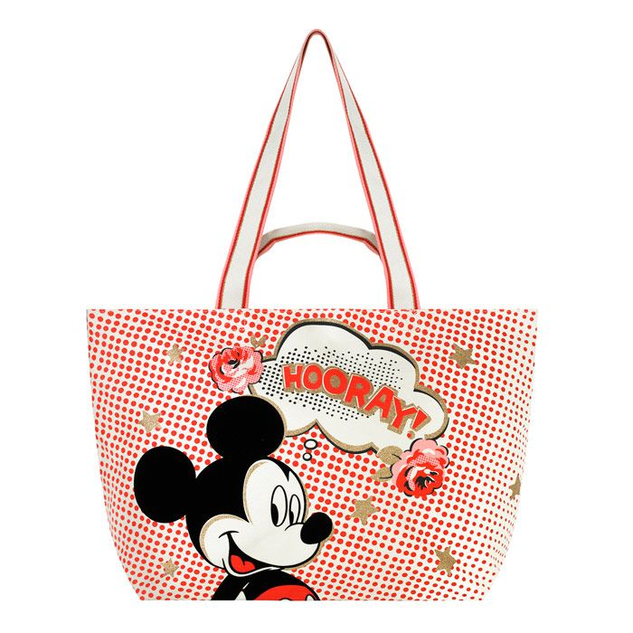 Mickey Mouse Shoulder Tote