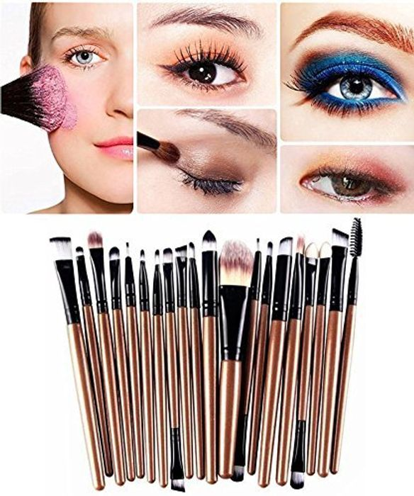 Demarkt 20 Pcs Professional Makeup Brushes