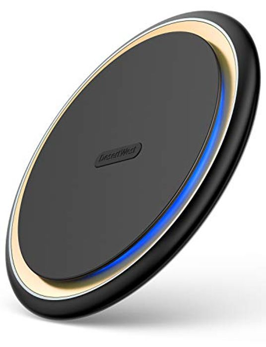Qi-Certified Fast Wireless Charger Pad - £17.39 from Amazon