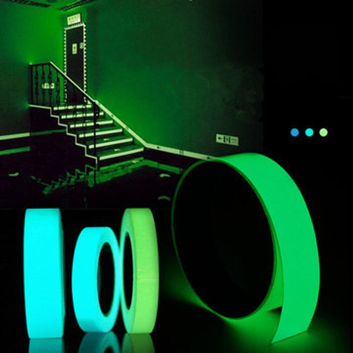 5mx15mm Luminous Tape Self-Adhesive Glowing in the Dark Safety Stage Home Decor