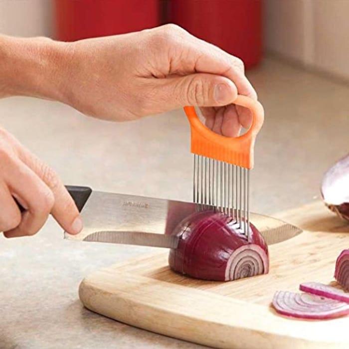 Vegetable/Salad Slicing Aid