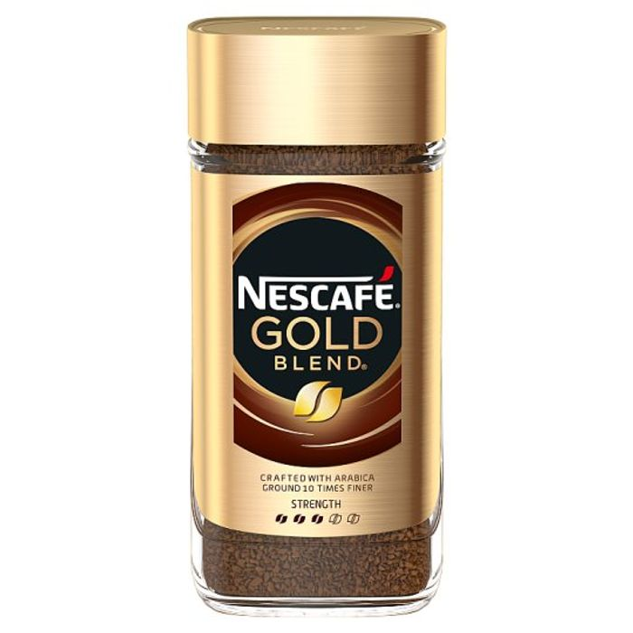 Nescafe Gold Blend Instant Coffee 200g £4 at Tesco