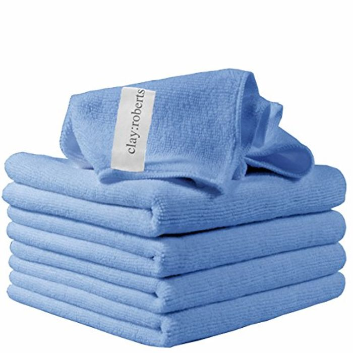 40x30 Microfibre Cleaning Cloths, 5 Pack ** Great Reviews**