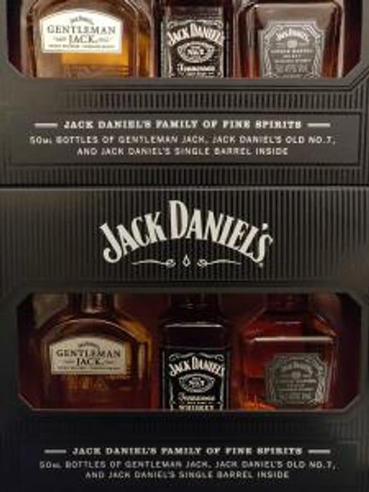 Jack Daniel's Miniatures - £3.75 Instore at Tesco