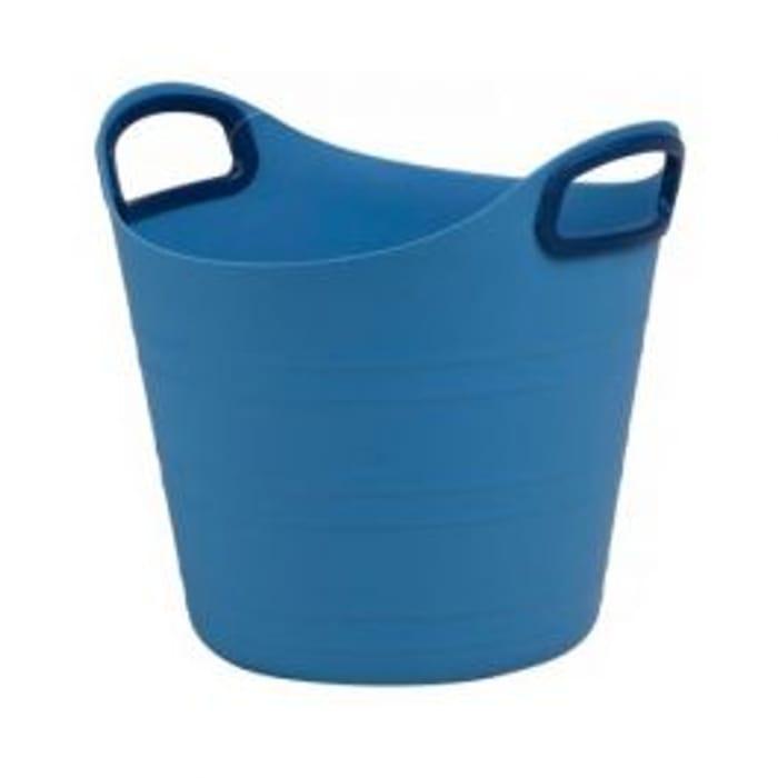 Soft Plastic Basket Blue