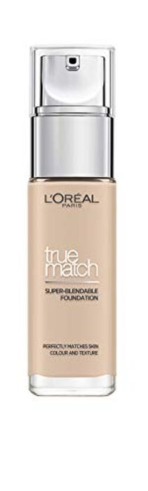 L'Oreal Paris True Match Foundation 1C Rose Ivory 30ml Possible Extra 20% off