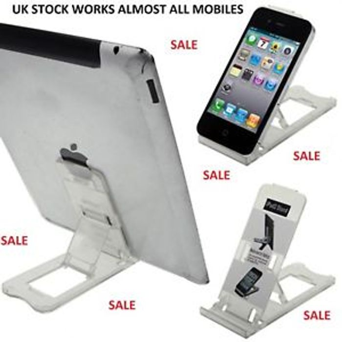 Tablet iPhone Desk Stand Holder Mobile Phones