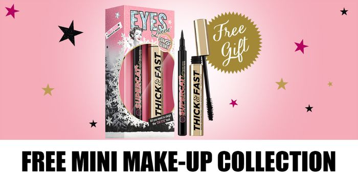 FREE MINI-MAKEUP COLLECTION When You Spend £12 on Make-Up