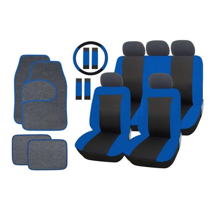 Car Seat Cover and Mat Bundle