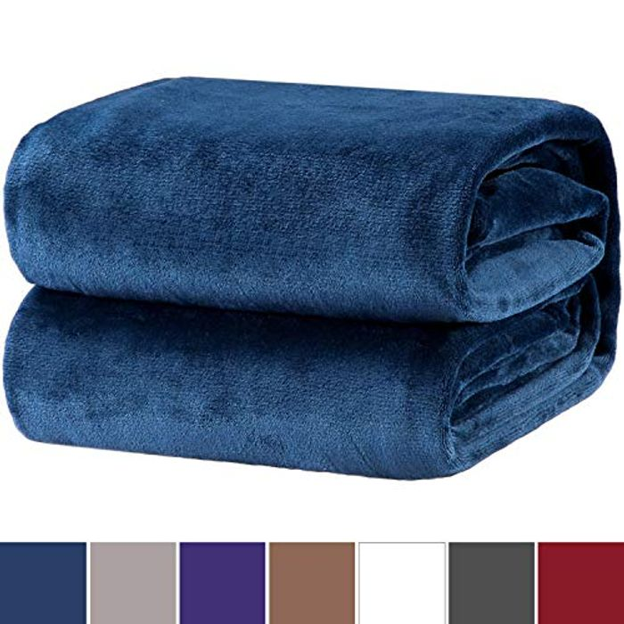 Bedsure Flannel Fleece Throw Blankets