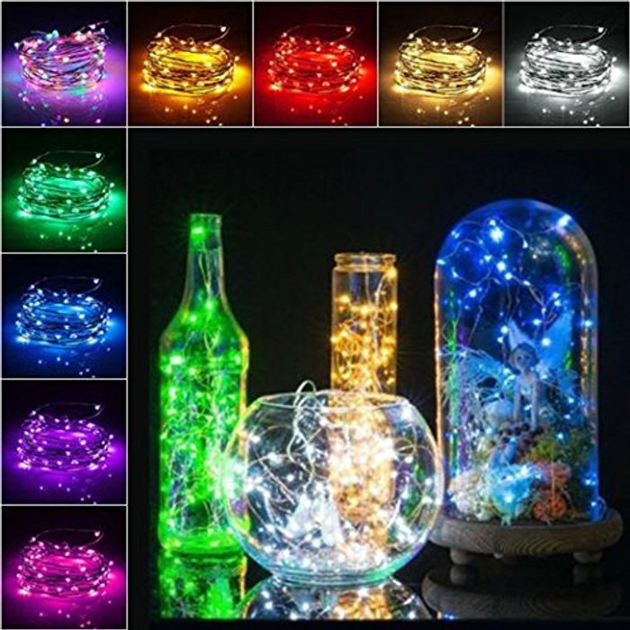 Wine Bottle LED String Lights (£1.50 P&p)