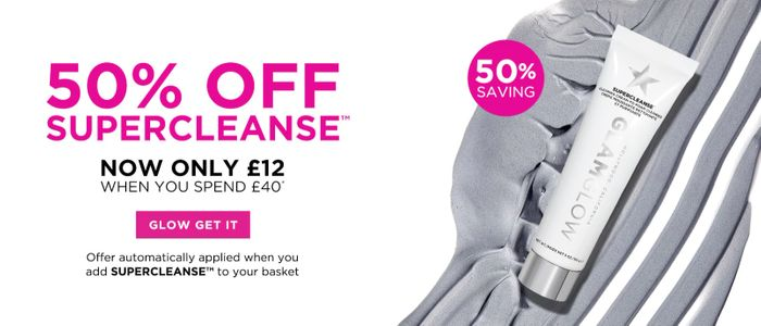 50% off Glamglow Supercleanse When You Spend £40