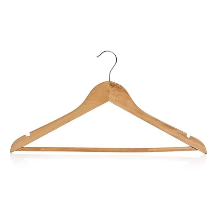 Wilko Wooden Coat Hangers 5pk