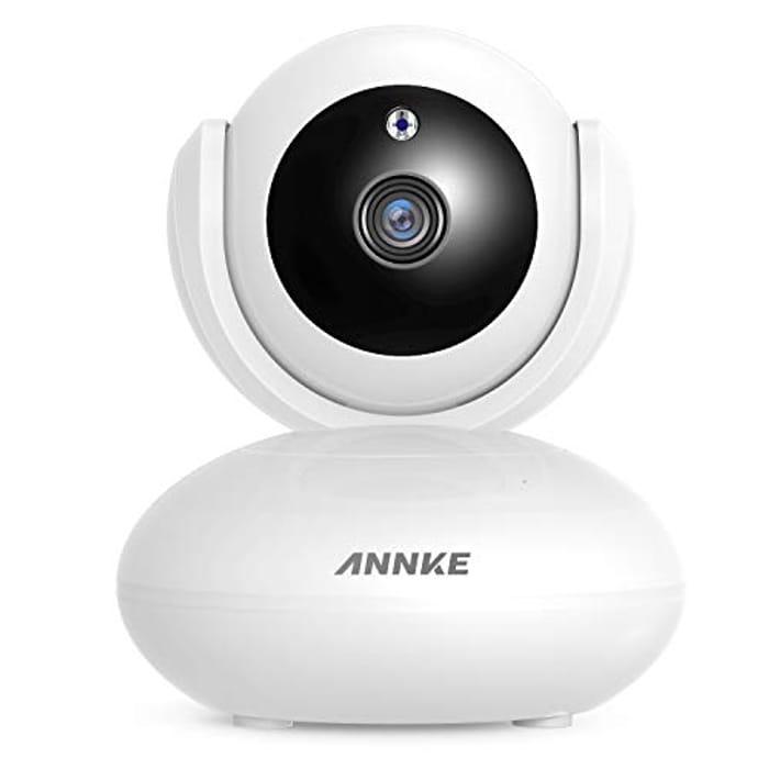 1080P Smart Wireless Camera, Work with Alexa , Auto Tracking, Alarm Push