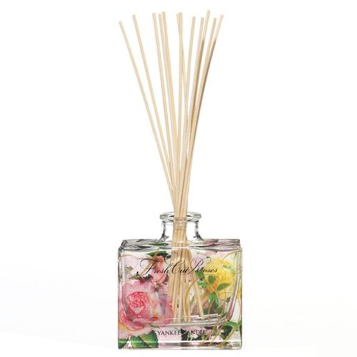 "Yankee Candle ""Fresh Cut Roses"" Signature Reed Diffuser, Pink"