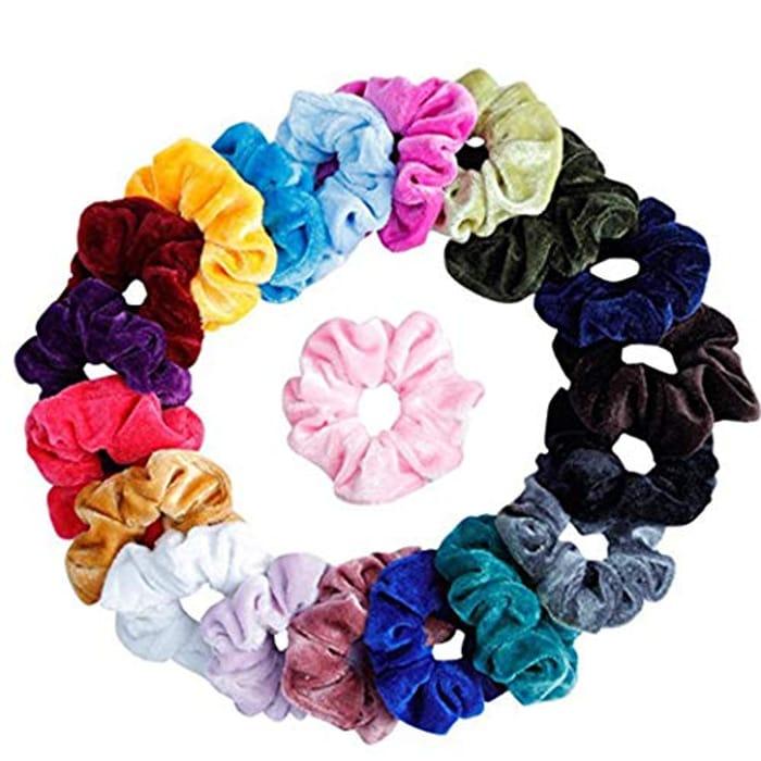 20pcs Women Hair Scrunchies