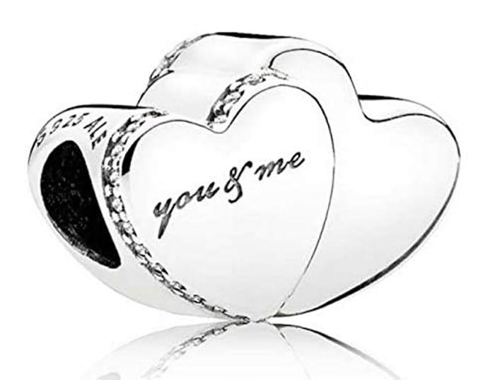 You and Me Pandora Charm