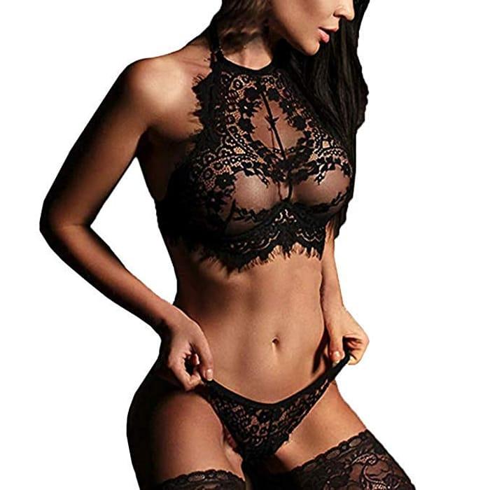 Ladies Lingerie Set Sexy Lingerie Lace Sleepwear Erotic Underwear Lingerie Sets