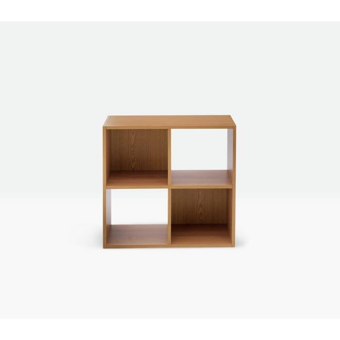 Oak Effect Squares 4 Cube Storage Unit (Argos Home) 20%off at Argos